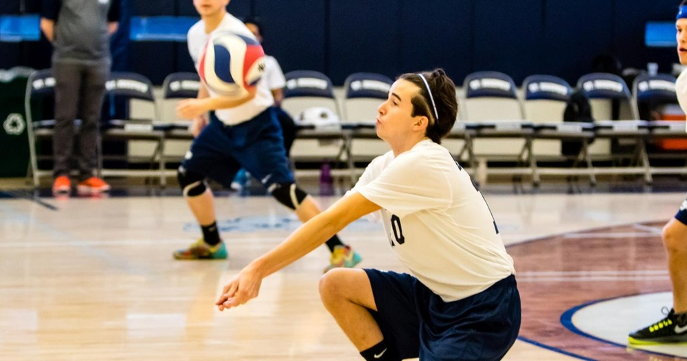 Men's Volleyball Drops Pair at Hunter Tri-Match