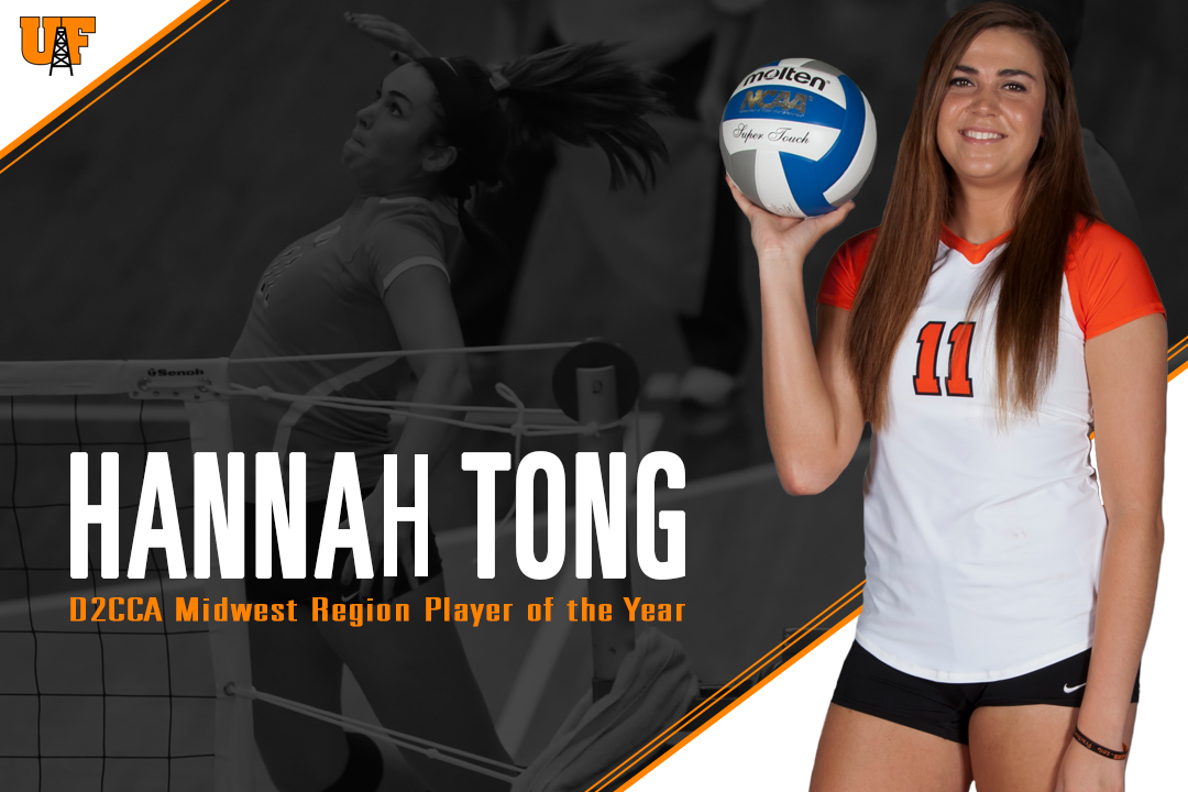 Tong Named D2CCA Midwest Region Player of the Year