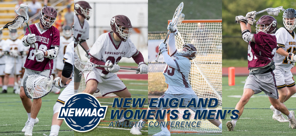 Four Men's Lacrosse Student-Athletes Named To NEWMAC All-Conference Teams
