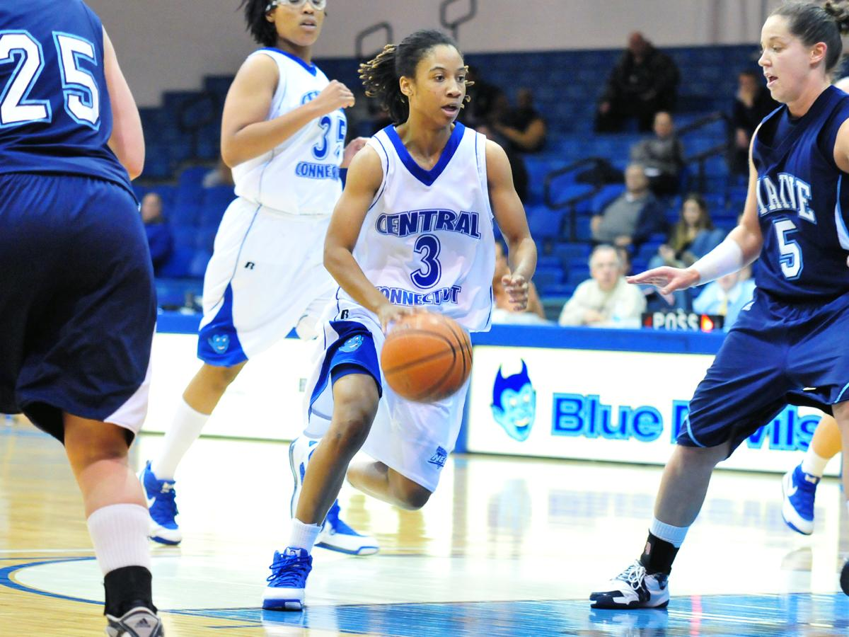 Simmons Guides Blue Devils in NEC Road Loss Versus Quinnipiac