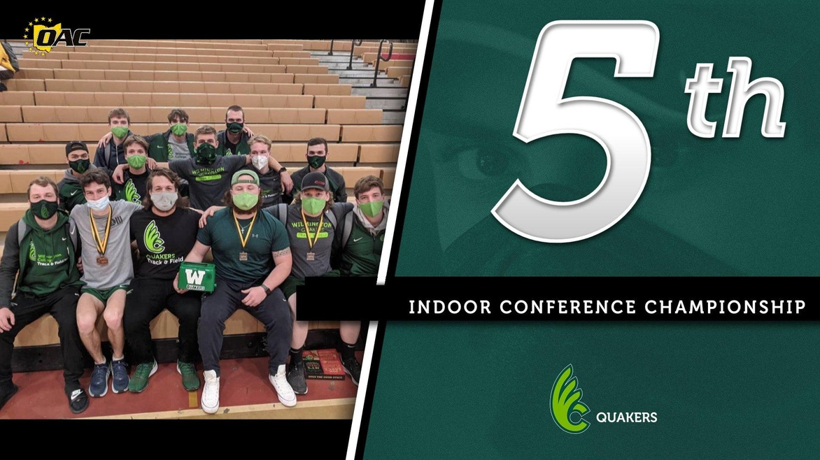 Men's Track & Field Fifth at OAC Indoor Championships, Highest Finish in a Decade