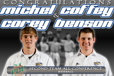 Coffey and Benson named All-Peach Belt