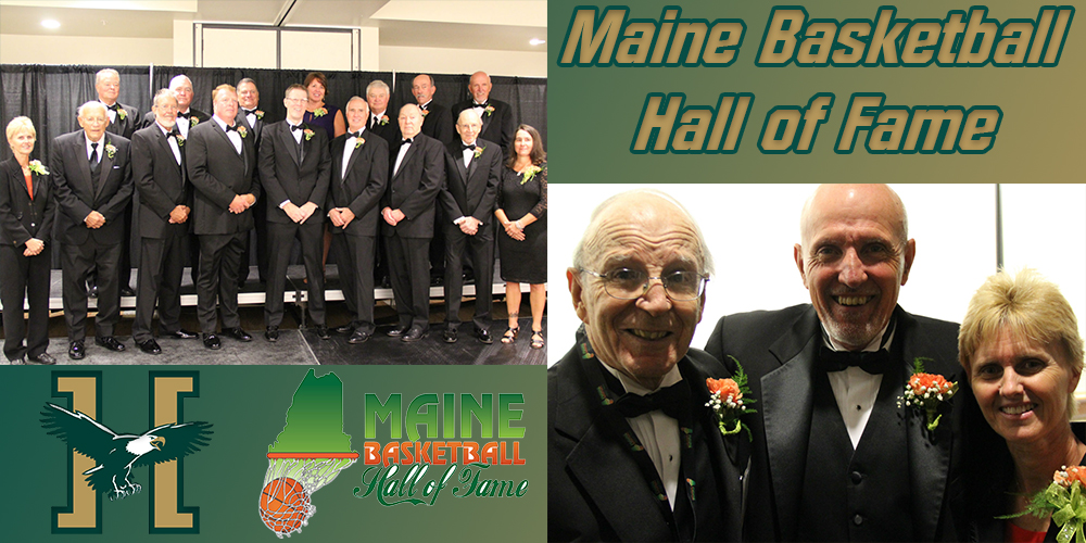 Walker, Cimbollek, Giroux Inducted into the Maine Basketball Hall of Fame