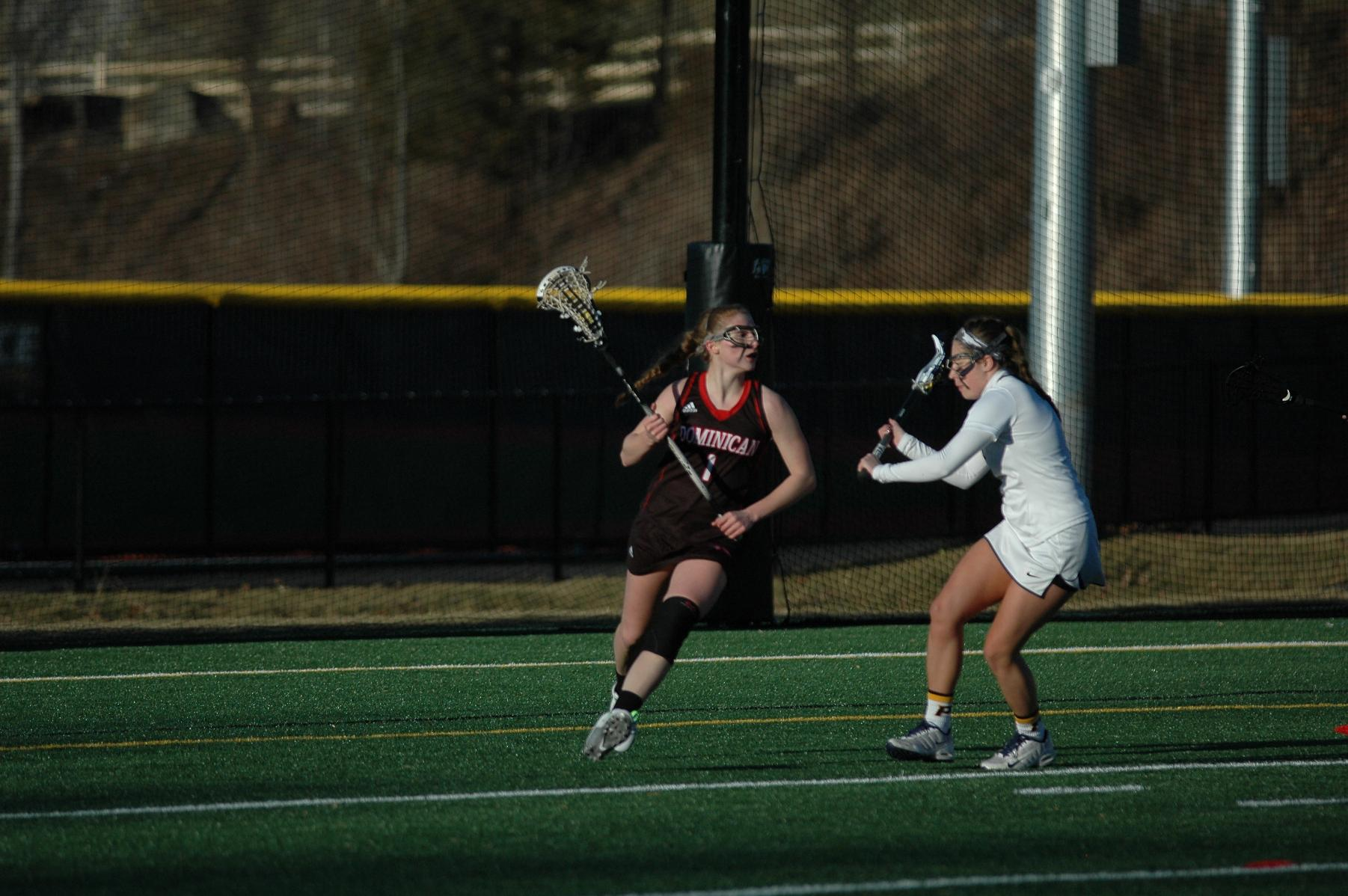 WOMEN'S LACROSSE OUTLASTS WILDCATS