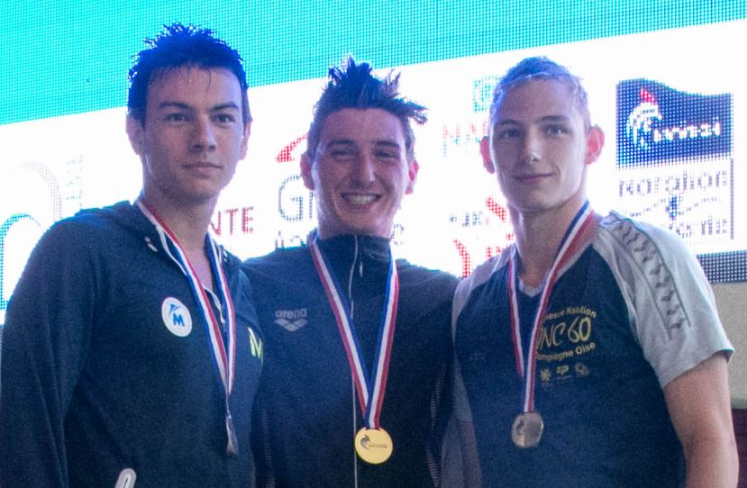 RACZYNSKI WINS 2 GOLD, 1 SILVER AT FRENCH CHAMPIONSHIPS