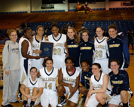 Bison win GU Holiday Tournament with upset over No. 17 Lebanon Valley College