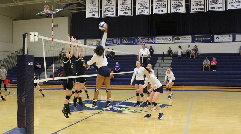 Lady Cougars defeat Welch College in 5 Sets
