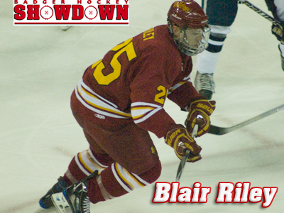 Blair Riley Named To Badger Showdown All-Tournament Team