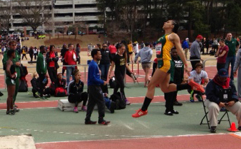 NMU's Stewart Provisionally Qualifies In The Triple Jump At Raleigh Relays