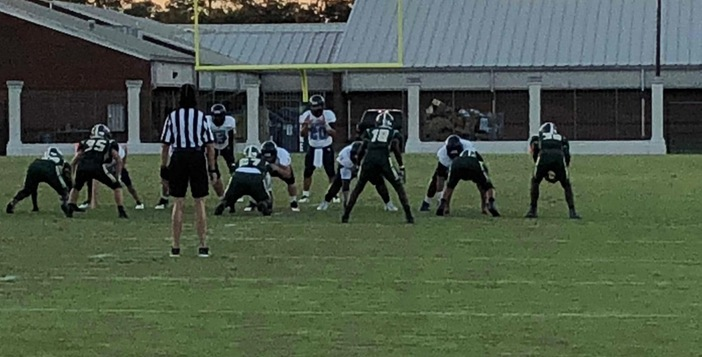 JV Football Team Defeats Camden 17-14 in the Swamp