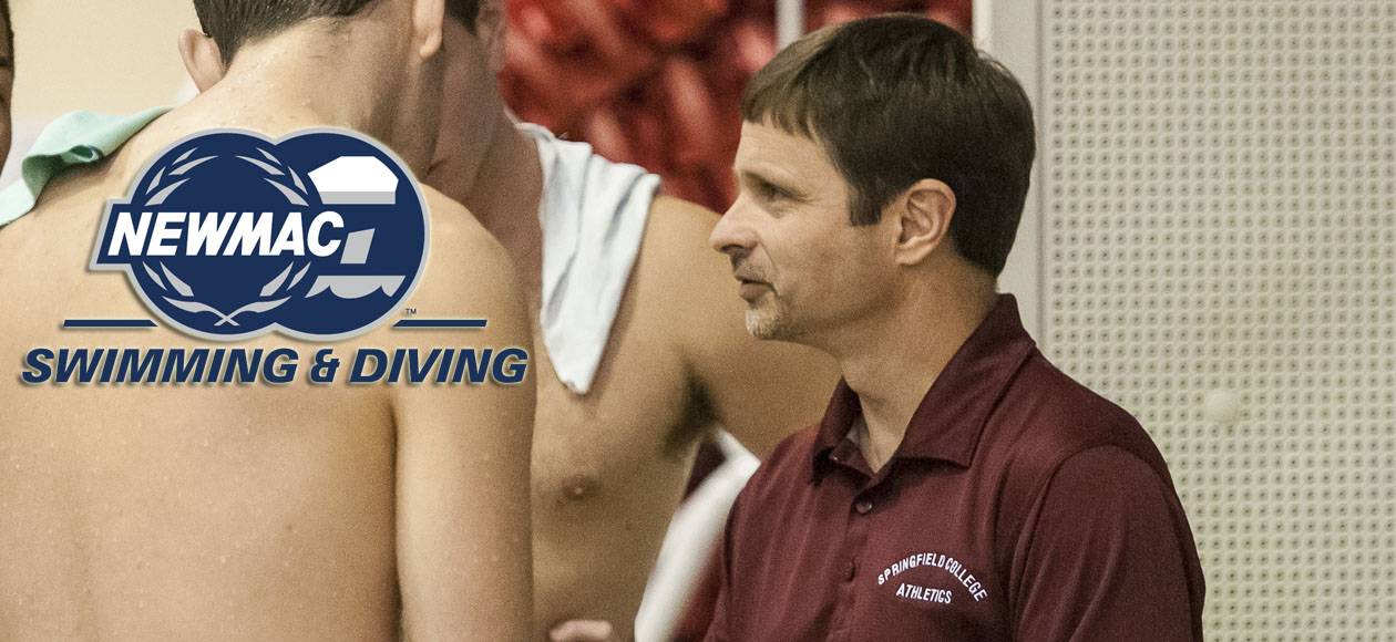 Avdoulos Headlines NEWMAC Swimming and Diving Honors With Coach of the Year Recognition