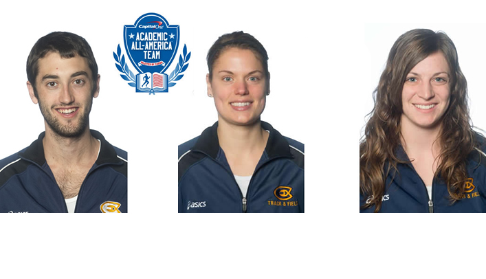 Three Blugolds Named to Capital One Academic All-America Teams