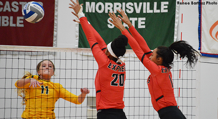 Oswego State Edges Wells Women's Volleyball