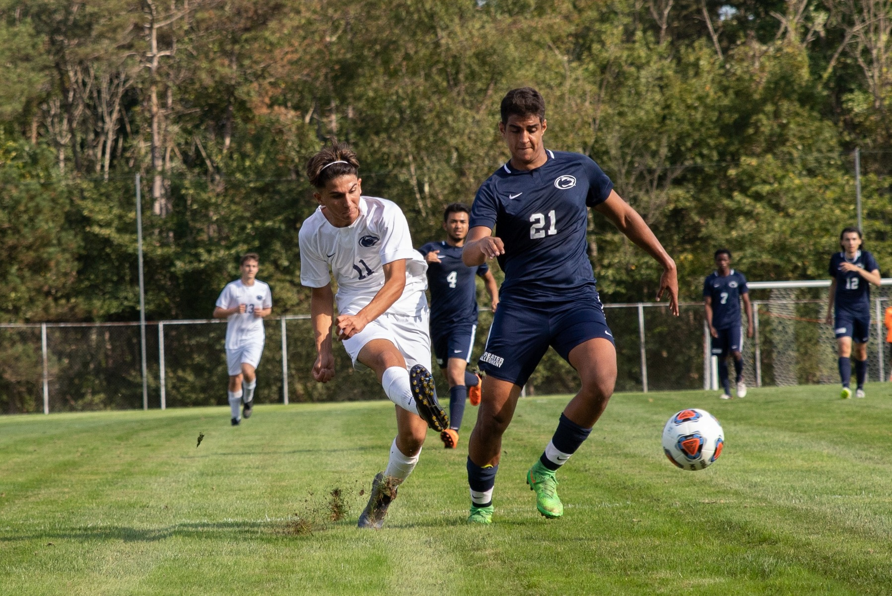 New Kensington Beats Wilkes-Barre in Men's Soccer