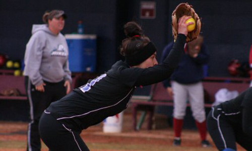 Martika Elmore struck out 15 in the BC opener
