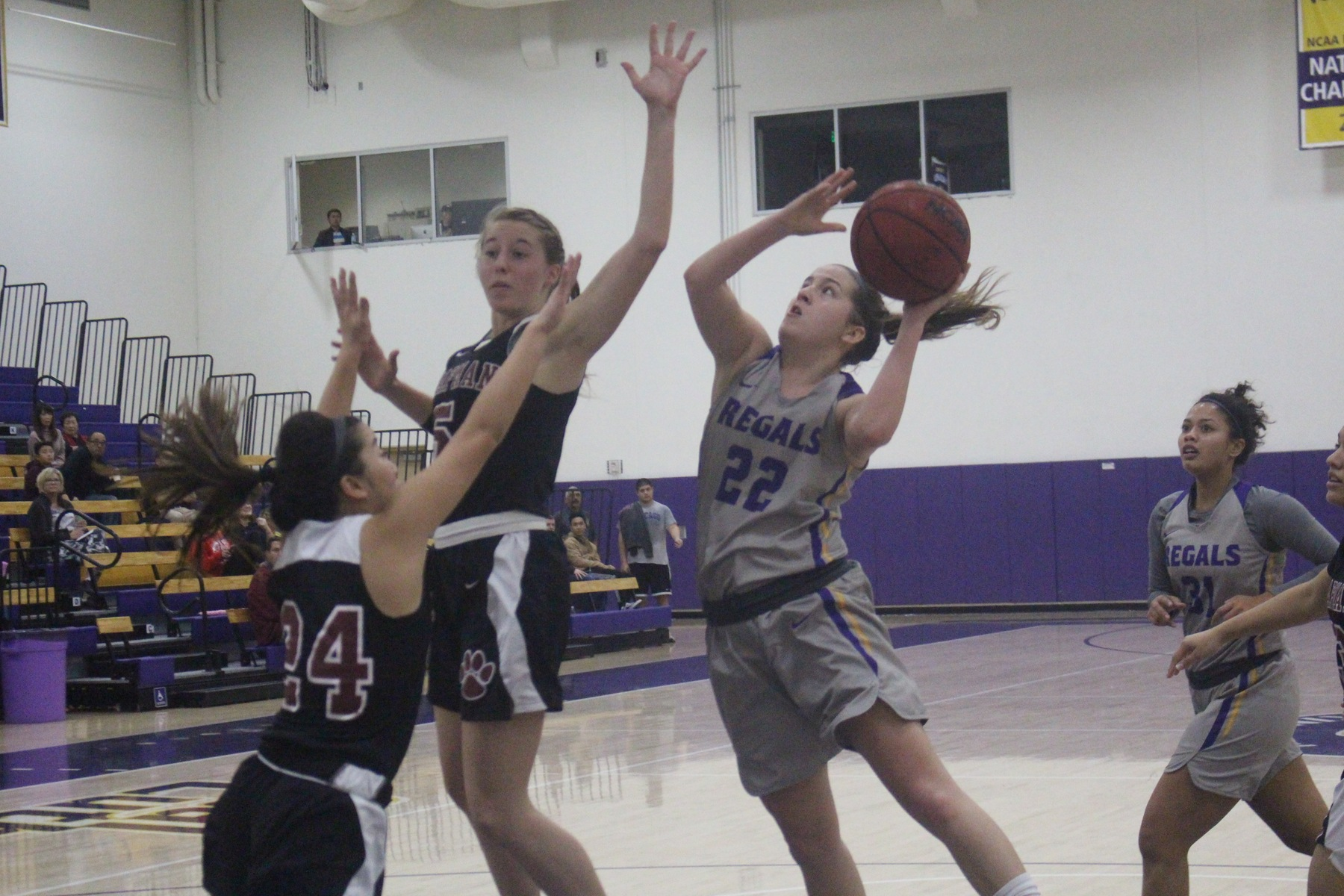 Four Regals Score Double-Digits In Win Over Whittier
