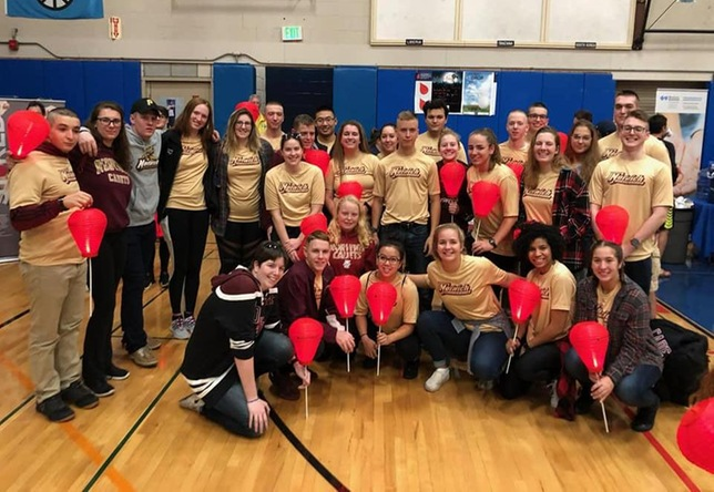 Swimming & Diving: Cadets Take Part in Light the Night Event
