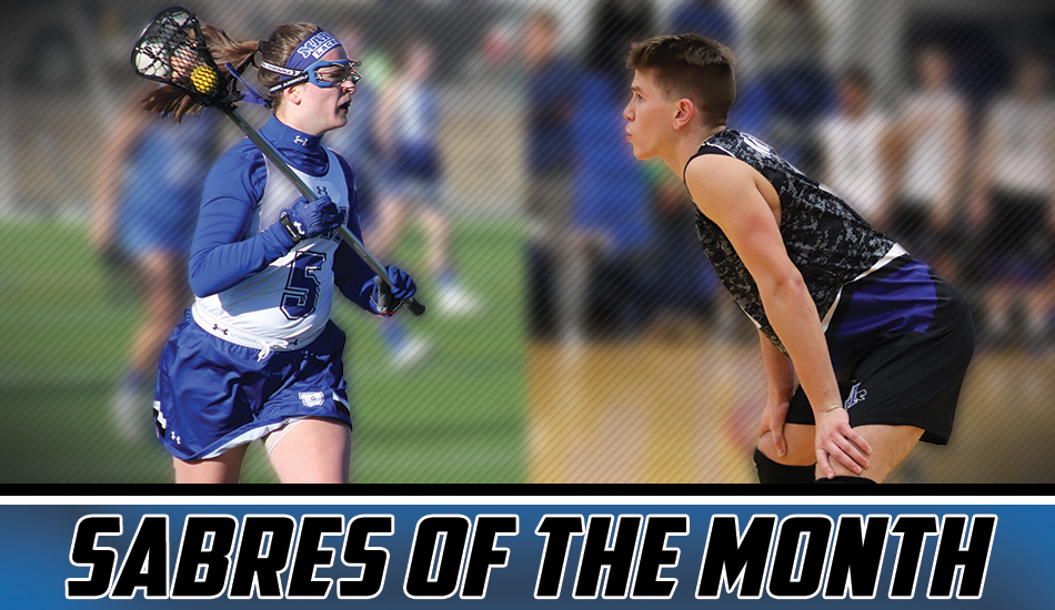 March Sabres of the Month graphic.