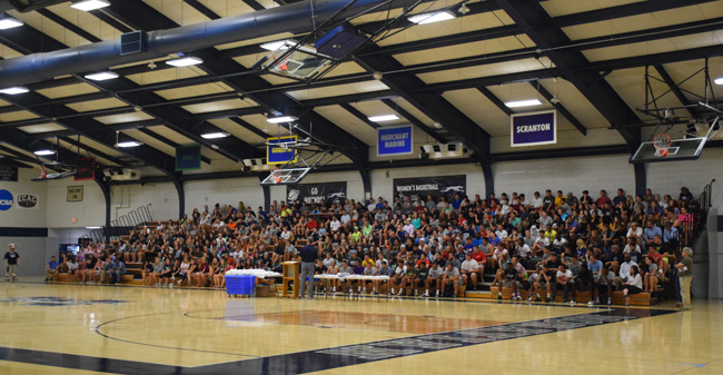 Moravian Hosts Annual SAAC Kickoff Event in Johnston Hall