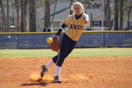 Martin tosses no-hitter for GSW, Lady 'Canes split at Anderson