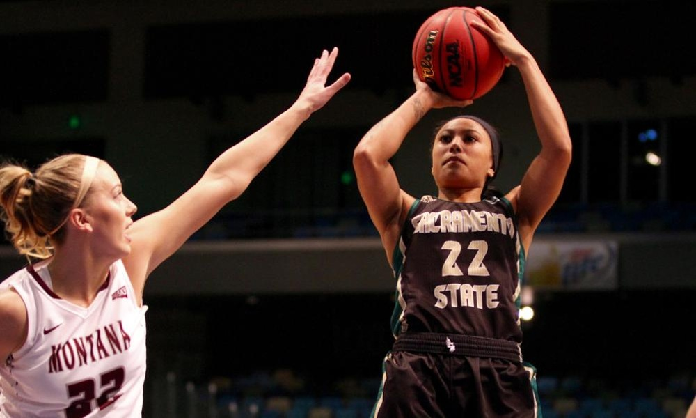 JOHNSON SCORES 30 IN TOURNAMENT OPENER, BUT MONTANA DEALS WOMEN'S HOOPS A FIRST ROUND LOSS, 87-80