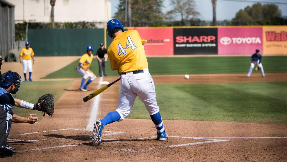 Sophomore DH Austin Bush was named tourney MVP (Photo by Rudy Huezo)