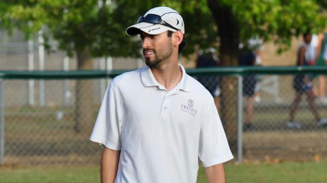 Derick Lawrence Named Trinity Cross Country Head Coach