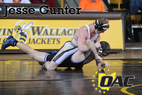 Jesse Gunter Selected First-Team All-OAC