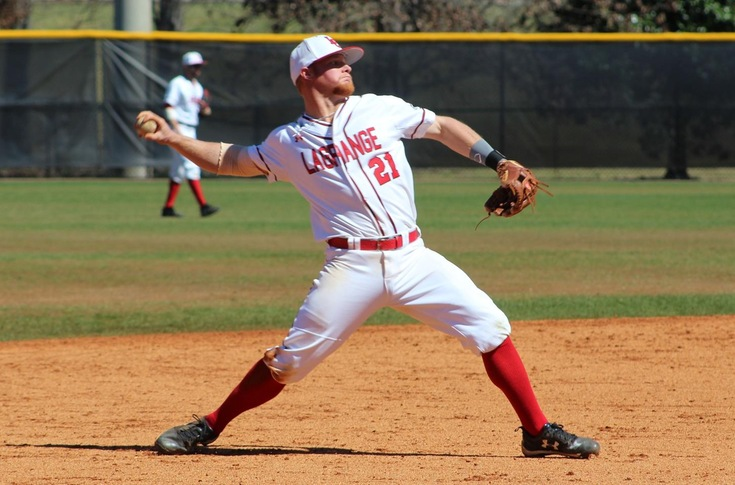 Baseball: Seventh-ranked Panthers sweep USA South doubleheader from Averett