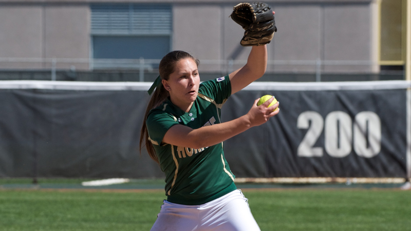 HARTMAN TOSSES A SHUTOUT IN SOFTBALL'S 1-0 VICTORY OVER KANSAS