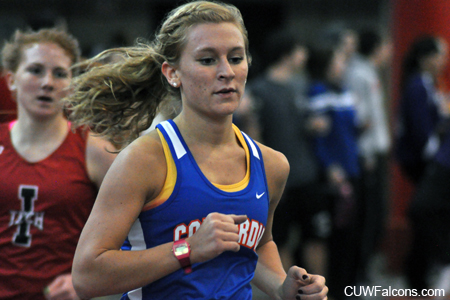 Women's Track & Field places second at NAC Indoor Championships