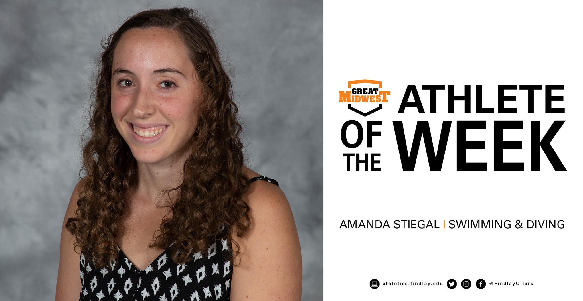 Stiegal Earns Athlete of the Week