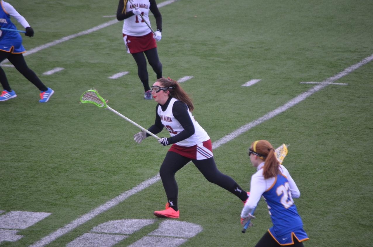 Women's Lacrosse: Blue Jays Cruise Past AMCATS, 18-2