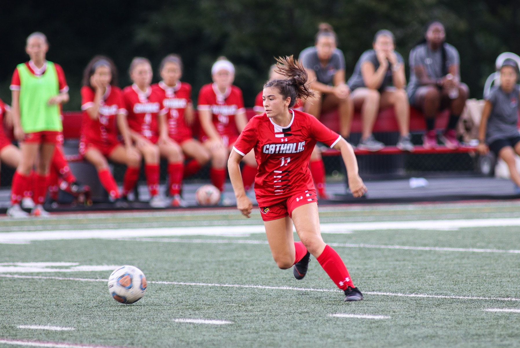 Two Late Goals Lift Cardinals in First Win Over Spartans