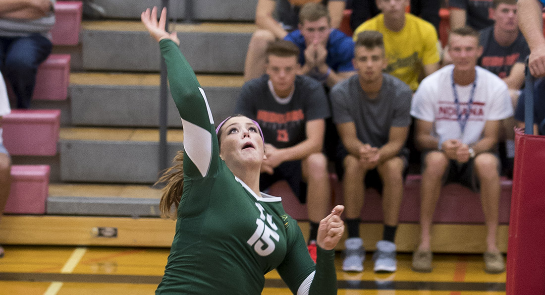 Amanda Curry was named GLIAC Volleyball Player of the Week.