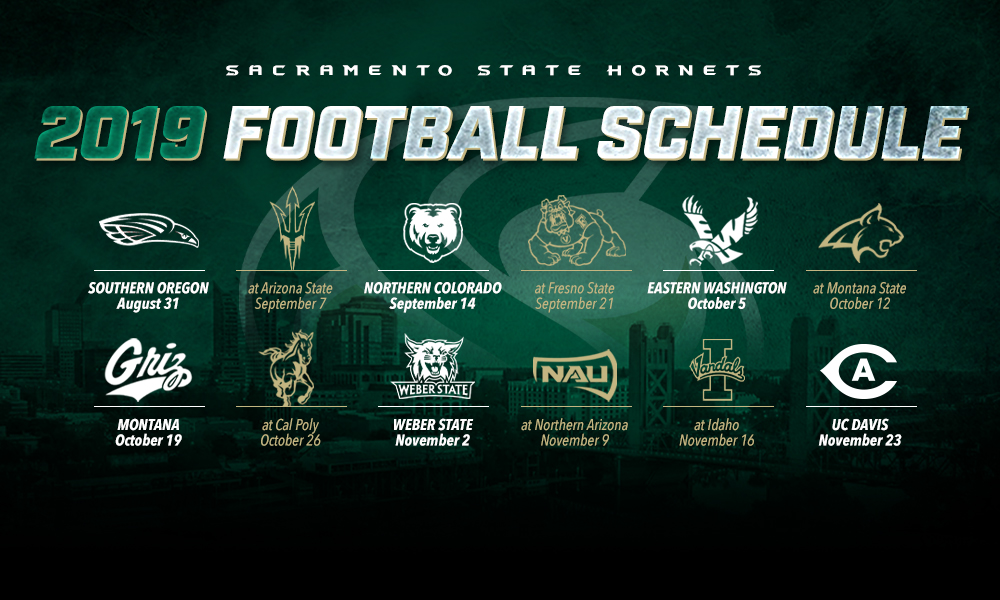 FOOTBALL ANNOUNCES 2019 SCHEDULE