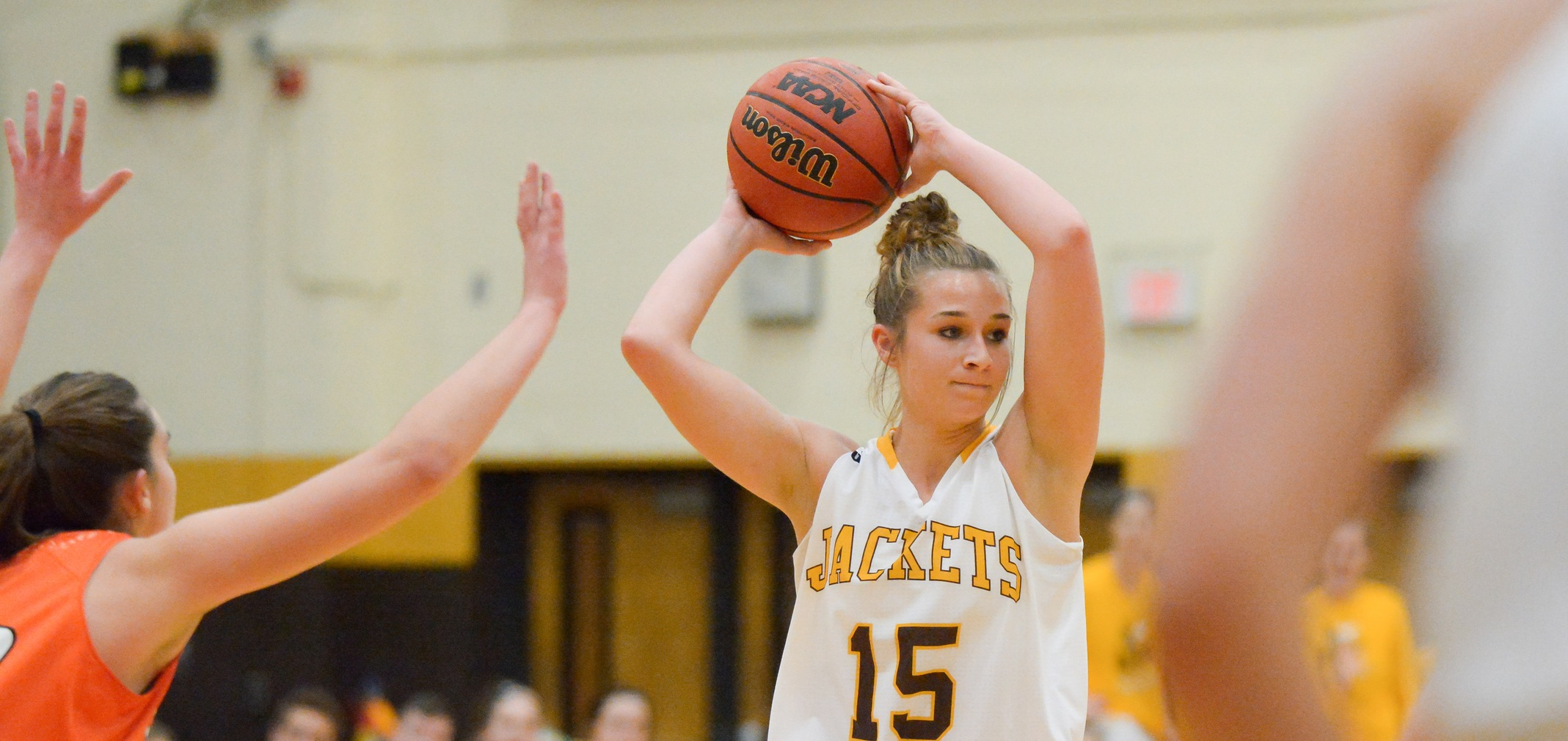 Junior All-OAC guard Hannah Fecht (Photo by Steven Schuster)