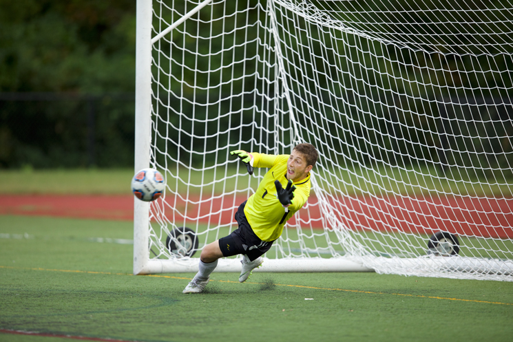 Men's Soccer Plays to 0-0 Draw at Emerson