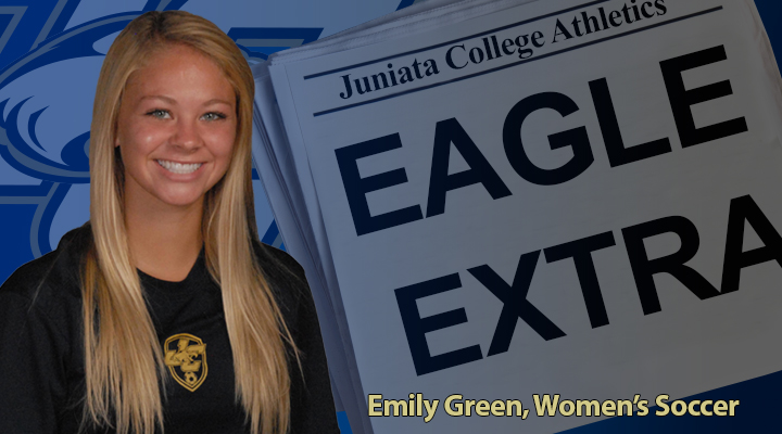 Eagle Extra: Emily Green, Women's Soccer