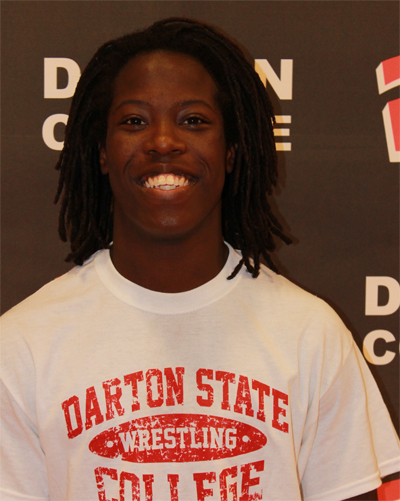 Jamel Sharp becomes Darton's 1st National Wrestling Champion