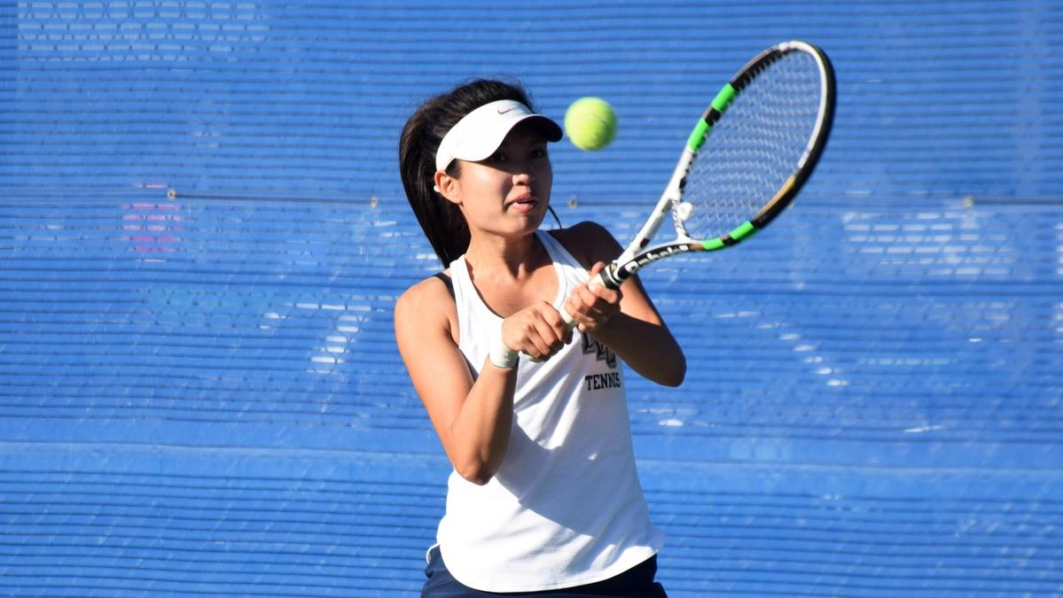 Women's tennis player Sarah Mae Garcia named All-American