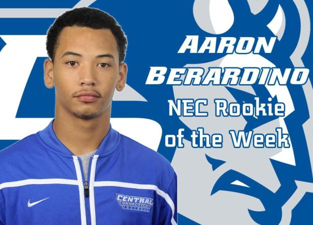 Berardino Named NEC Rookie of the Week