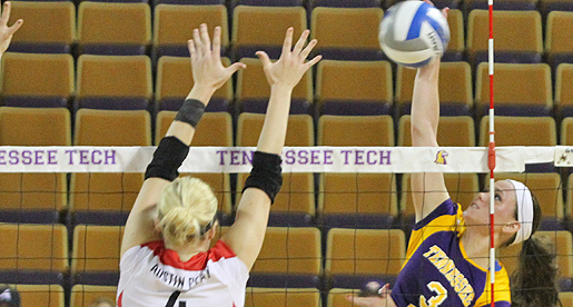 Golden Eagle volleyball drops midweek match-up with Jacksonville State