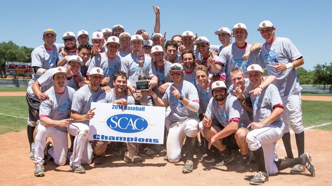 Trinity Repeats as SCAC Baseball Champion with 10-1 Victory Over Texas Lutheran