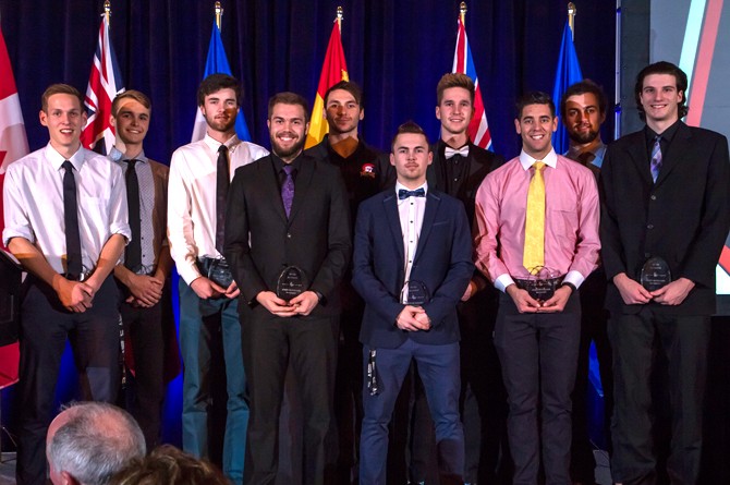 2018 CCAA Men's Volleyball All-Canadians