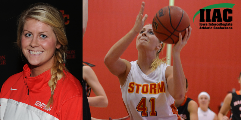 Terpstra named IIAC Athlete of the Week
