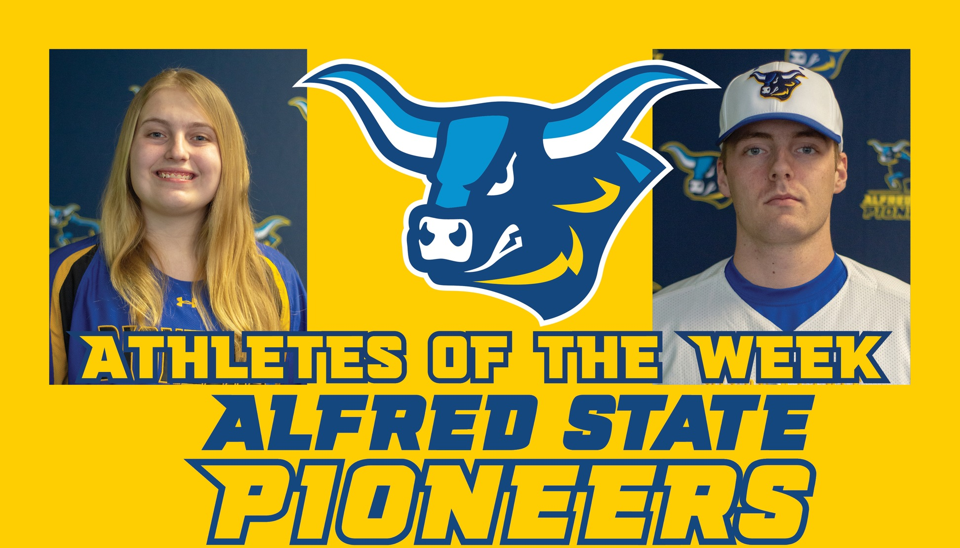 Brittany Fisher and Dan Woodward Named Athletes of the Week