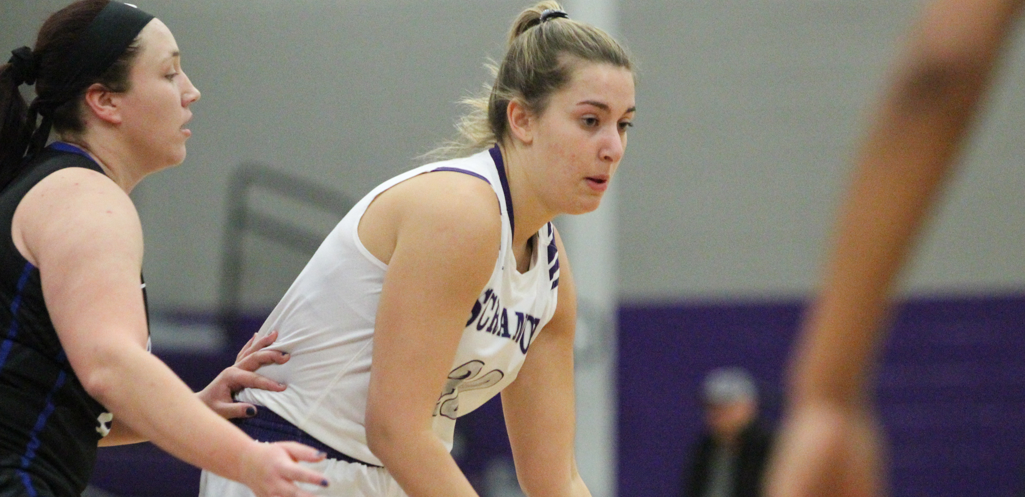 Junior forward Sofia Recupero poured in a career-high 22 points to lead the Lady Royals to a 65-53 win over Ithaca on Saturday as part of the 2018 Hilton Scranton Poinsettia Classic.