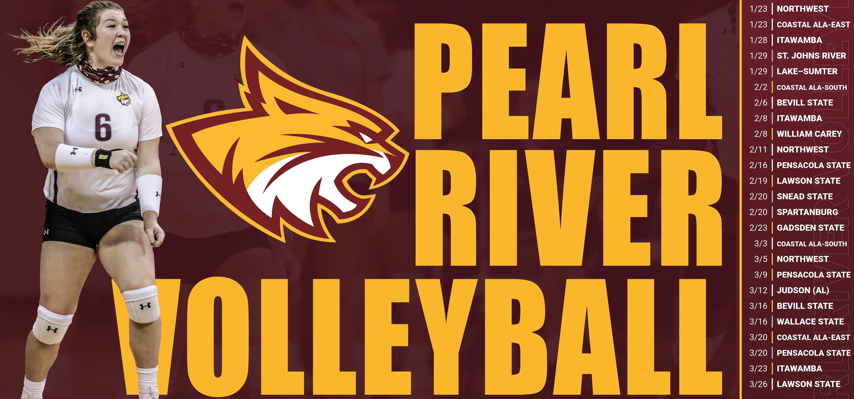 Pearl River announces finalized volleyball schedule