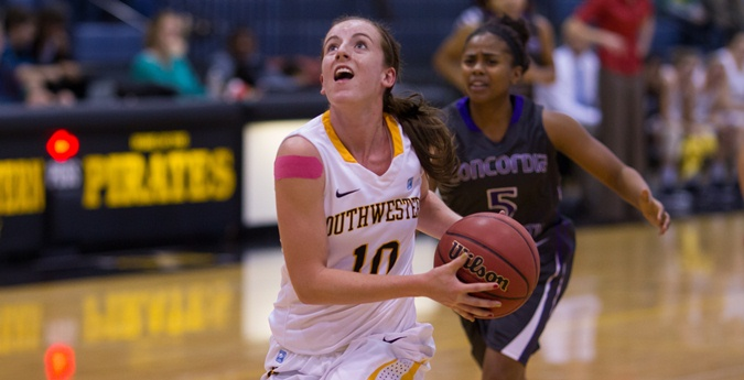 Women's Basketball Closes Out Regular Season With Big Win